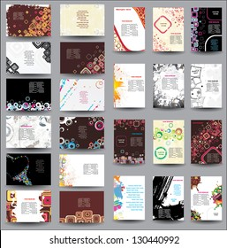 Mix Collection vertical and horizontal posters