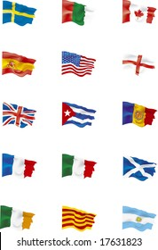 mixed flags