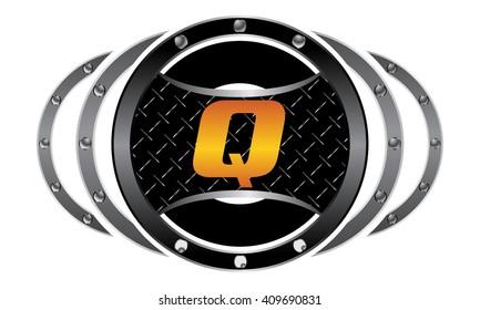 Mixed Martial Arts letter Q