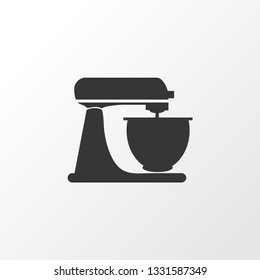 Mixer icon symbol. Premium quality isolated whisk element in trendy style.
