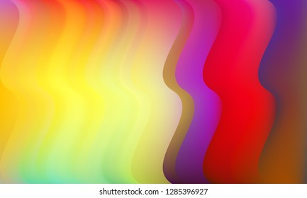 Mixing liquid color flow abstract background. Trendy abstract layout template