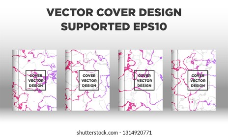 Mixture of acrylic paints. Liquid marble texture. Fluid art. Applicable for design cover, presentation, invitation, flyer, annual report, poster, desing packaging. Modern artwork - Vector\n