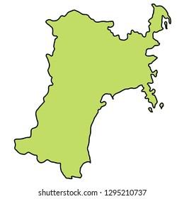 Miyagi  Map frame icon