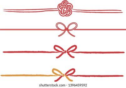 MIZUHIKI  Japanese traditional ribbon gift