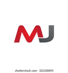 MJ company linked letter logo