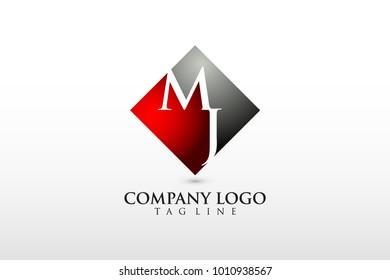 mj company logo vector