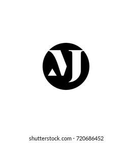 mj letter logo