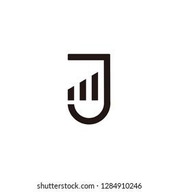 mj letter vector logo