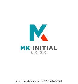 MK initial logo inspiration