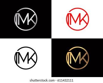 mk text logo