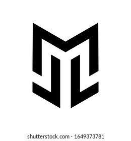 ml logo, simple smart clean