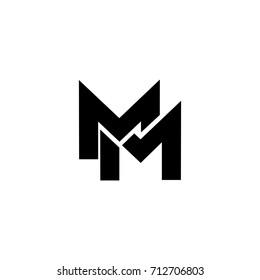 mm letter logo