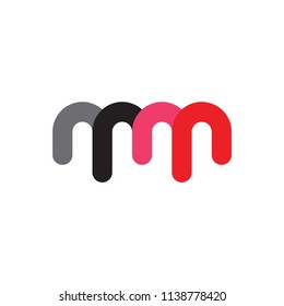 MM logo letter design