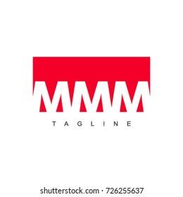 MMM Company Logo Vector Template Design