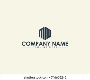 MN logo design