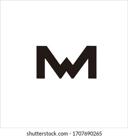 """""""MN"""" logo design This design is suitable for your company name and brand"""