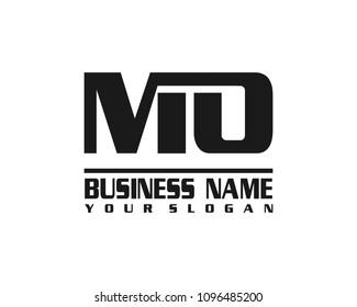 MO company linked letter logo