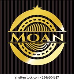 Moan golden emblem