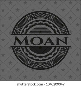 Moan realistic dark emblem
