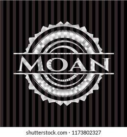 Moan silver emblem