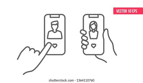 dating icoane app icons