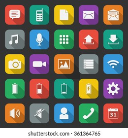 Mobile App icon set 6