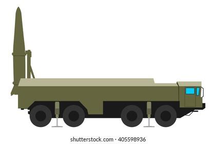 Mobile ballistic missile system