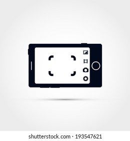 Mobile camera illustration