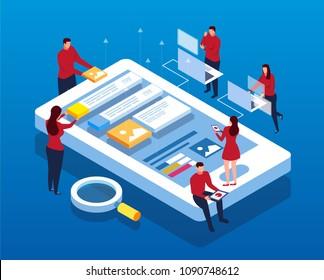 Mobile Data APP Construction