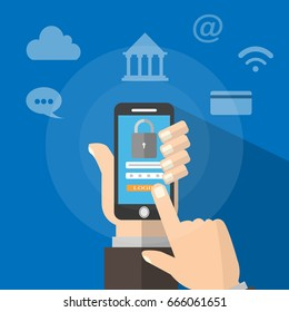 Mobile encryption and security system.