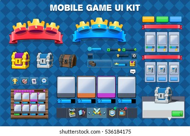 Mobile Game Gui Images, Stock Photos & Vectors | Shutterstock