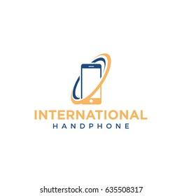 mobile logo icon vector template