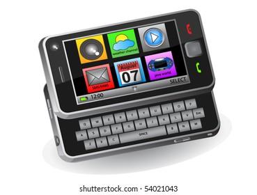 Mobile menu - original design