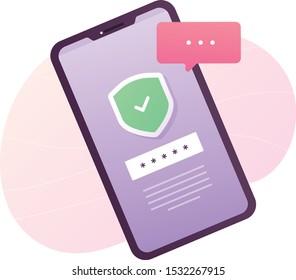 Mobile OTP secure Verification Method