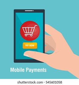 mobile payments business icon