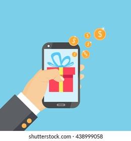 mobile payments illustration design.