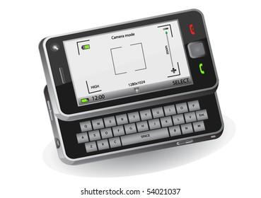 Mobile phone with camera mode - original design