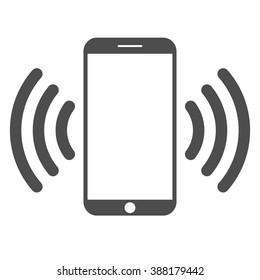 Mobile phone.  Mobile connection