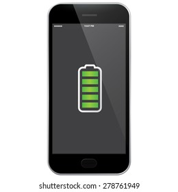 Mobile Phone - Full Battery