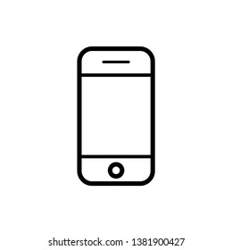 Mobile phone icon design template. Vector EPS 10