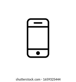 Mobile Phone Icon In Trendy  Design Vector Eps 10