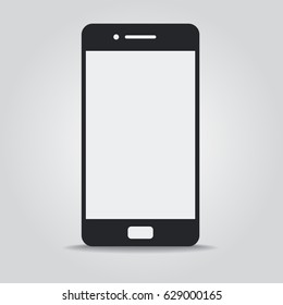 Mobile Phone Icon, Mobile Phone Vector Icon, Vector Illustration, Eps10
