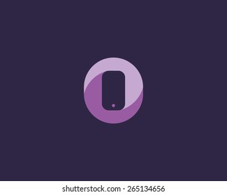 Mobile phone shop Logo design vector template. Smart phone, Worldwide, Global, Social, E-reading Education logotype. On-line store. Application icon concept.