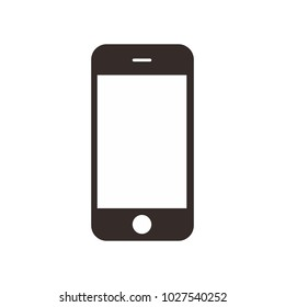 mobile phone smartphone device gadget. Cell phone icon vector.