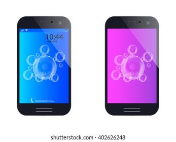 mobile phone - vector illustration
