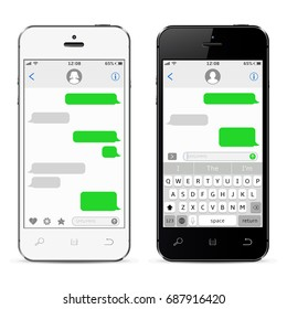 Mobile phones with sms chat