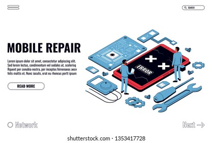 Spare Parts for Mobile Phones Images, Stock Photos & Vectors