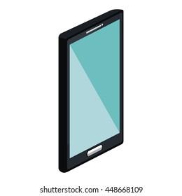Mobile smartphone technology device, vector illustration graphic design.
