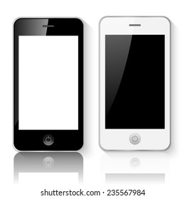 Mobile Smartphones Vector Illustration