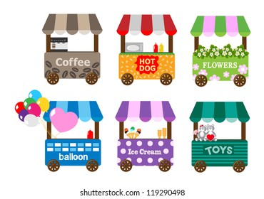 Mobile stores